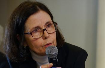 Pascale Andréani nagykövet asszony előadása